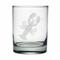 Lobster Etched Dor Glass Set