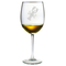 Lobster Etched Stemmed Wine Or Champagne Flute Glasses