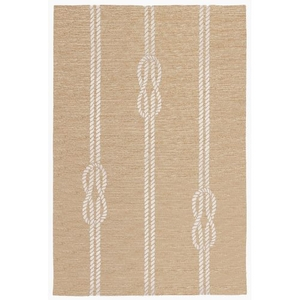 """Liora Manne Capri Ropes Indoor/Outdoor Rug - Natural, 5' By 7'6"""""""