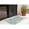 "Liora Manne Frontporch Mermaid Crossing Indoor/Outdoor Rug - Blue, 5' By 7'6"""