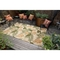 """Liora Manne Ravella Tropical Leaf Indoor/Outdoor Rug - Natural, 5' By 7'6"""""""