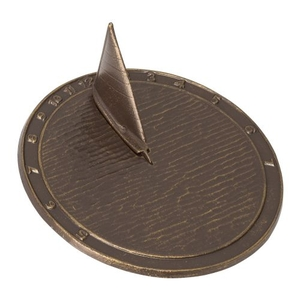 Day Sailor Sundial, French Bronze