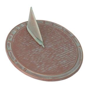 Whitehall Day Sailor Sundial, Copper Verdi