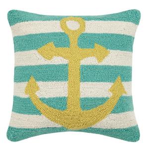 Anchor StripeHook Pillow