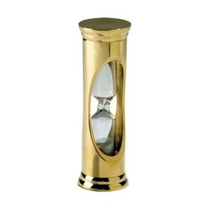 Brass 3 Minute Sandglass