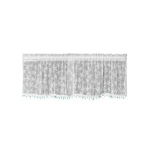 Starfish 45X15 Window Valance W/ Trim
