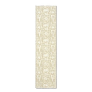 Crab Damask 14X54 Table Runner