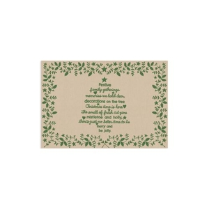 Christmas Time 13X19 Placemat
