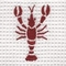 Custom Embroidered Coastal Euro Pillow Cover (Design Selection II)