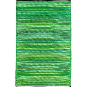 Cancun -Green Indoor Outdoor Rug