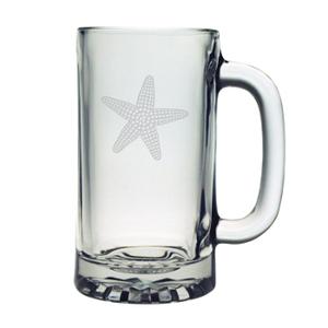 Starfish Pub Beer Mugs, 16oz,  S/4