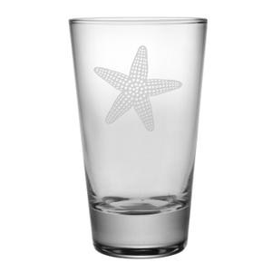 Star Fish, Hiballs  / Pint , 16  Oz., S/4