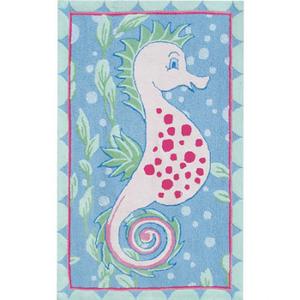 Baby Seahorse Area Rug