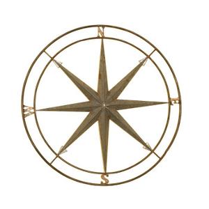 Compass Metal Art