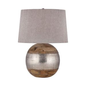 German Silver Table Lamp
