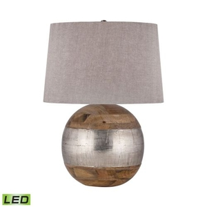 German Silver Led Table Lamp