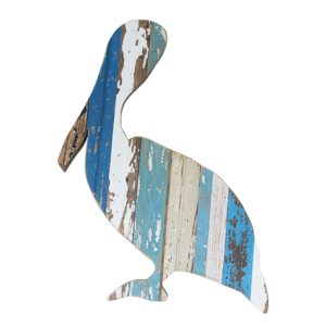 Pelican Wooden Plaque