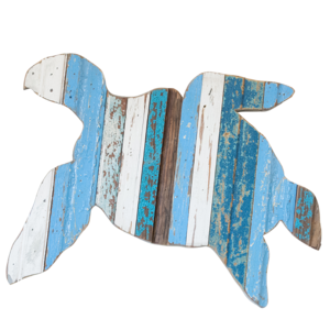 Sea Turtle Wooden Plaque
