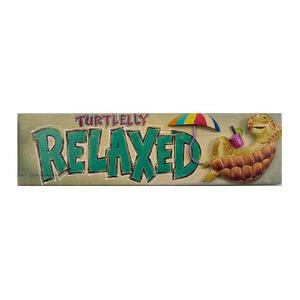 Turtle Relax Sign