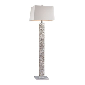 Mother Of Pearl Floor Lamp