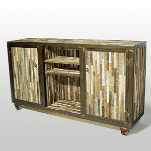 Reclaimed Barnwood Console Table