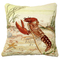 "Lobster 18"" x 18"" Needlepoint Pillow"