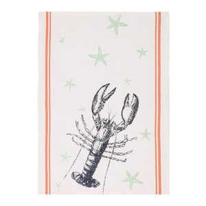 Lobster and Starfish Kitchen Towel