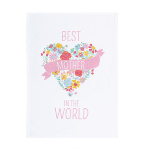 Best Mother In The World Kitchen Towel
