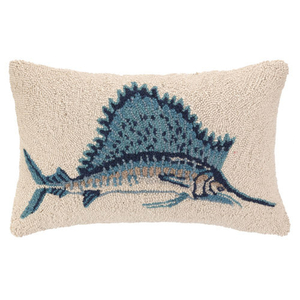 Sail Marlin Hook Pillow