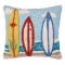 Surf Boards Hook Pillow