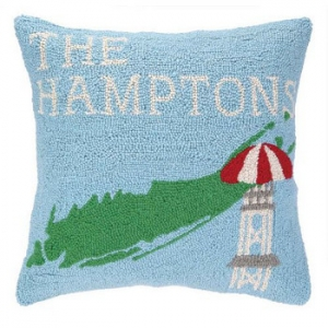 Take Me To Hamptons Hook Pillow