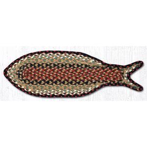Fish Shaped Rug