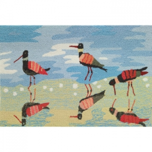 Reflective Sandpipers Rug