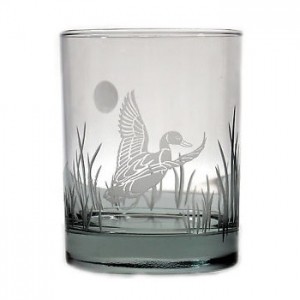 Duck On The Rocks Glasses  Set Of 4