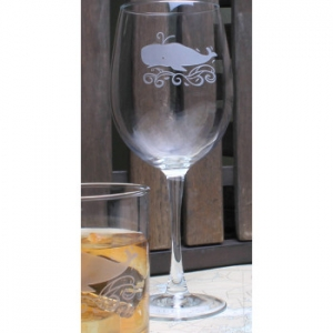 Whale Large Wine Glasses  S/4