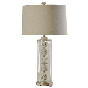 Seashell Cylinder Table Lamp