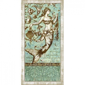 Driftwood Mermaid No.1 Wall Art