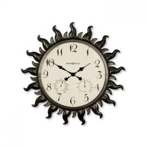 Sunburst Ii Indoor/Outdoor Clock