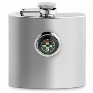 Compass Stainless Steel Flask
