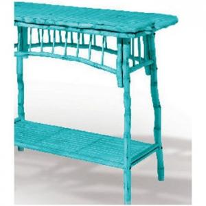 Coastal Bamboo Console Table