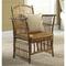 Coastal Bamboo Tortoise Side Chair