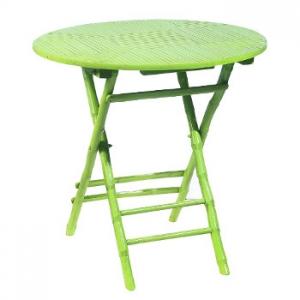 Coastal Bamboo Folding Table