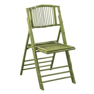 Coastal Bamboo Folding Chair Set Of 2