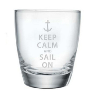 Keep Calm And Sail On, Dof Glasses S/4