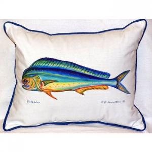 Dolphin Outdoor Pillow