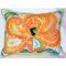 Orange Octopus Indoor Outdoor Pillow