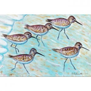 Sandpipers Door Mat