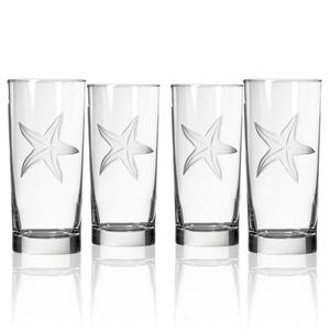 Starfish Cooler Glass (set of 4)