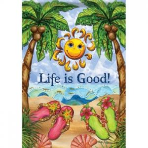 Life Is Good, Sunsation Garden Dura Soft Flag