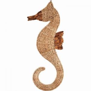 Seahorse  Woven Wall Art